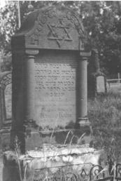 Grabmal der Karoline Kahn (geb. Jakobs)