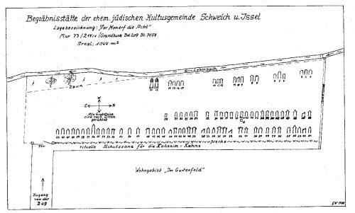 Belegplan des Friedhofs von Georg Wagner, Schweich
